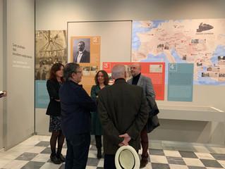 Inauguración de la exposición de la Casa Museo Vicente Blasco Ibáñez