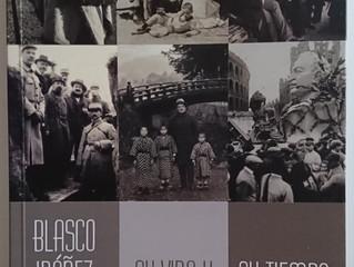Emilio Sales en la presentación de Blasco Ibáñez, su vida y su tiempo.