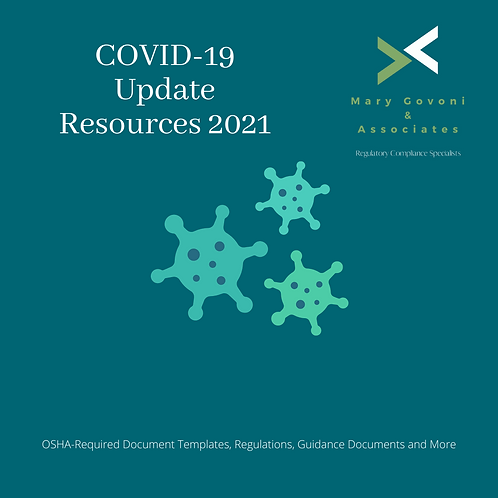 COVID-19 Resources Update for 2021