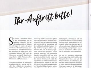 """Bericht im Lifestyle-Magazin """"Wein4tlerin"""""""