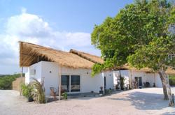 Beachfront bungalows
