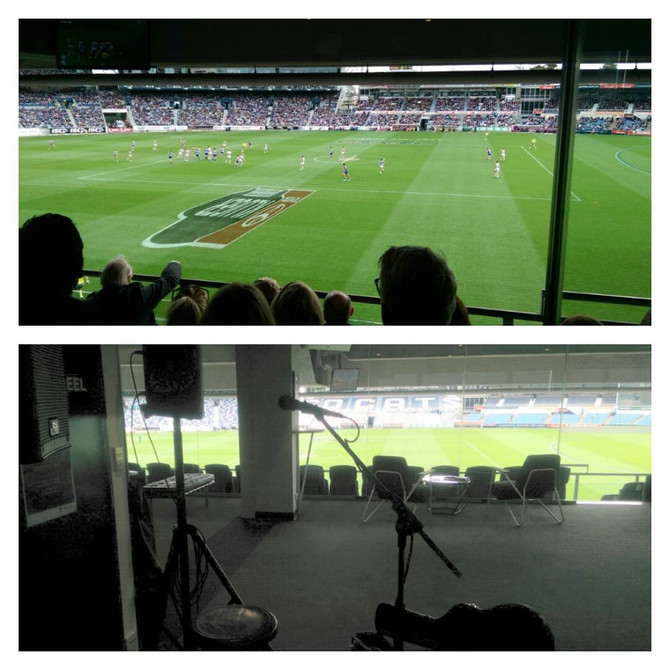 Geelong Cats vs North Melbourne | Perone Lounge, Simmonds Stadium