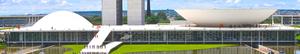 Национальный конгресс Бразилии. Архитектор – Оскар Нимейер, 1960. Пример использования микроцемента в архитектуре