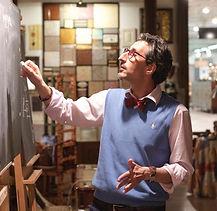 Марат Ка в лаборатории