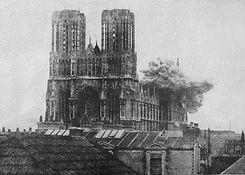 57 Shelling of Rheims Cathedral.JPG