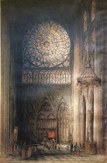 NotreDame, Paris (The North Transept)_ed