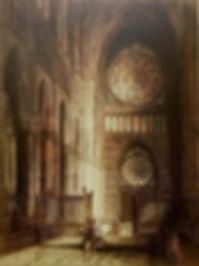 Rose Windows, Rheims Cathedral 1916_edit