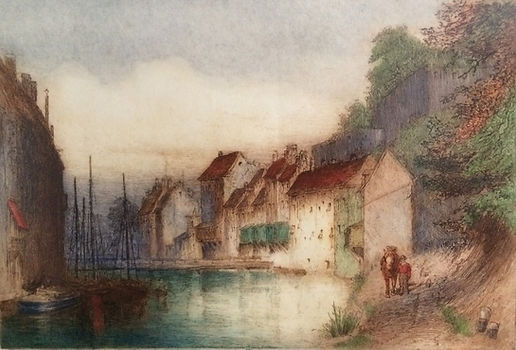 On the Canal (Sambre), Old Namur