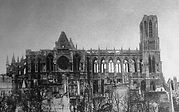 Rheims Cathedral from the north.JPG