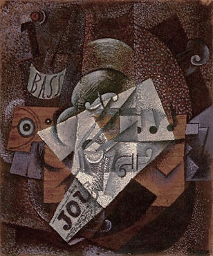 Pablo_Picasso,_1913,_Bouteille,_clarinet