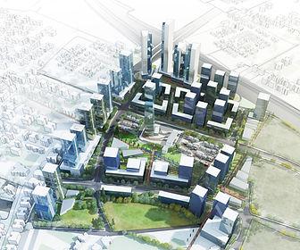 הדמיות אדריכליות תכנון ערים