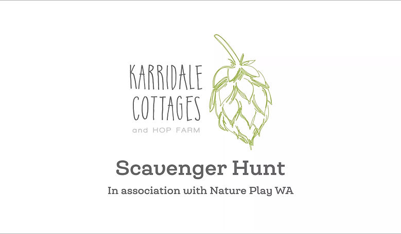 Karridale Cottages Scavenger Hunt Video
