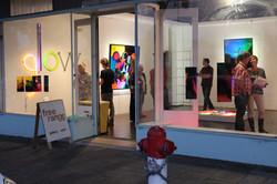 Glow Exhibition opening