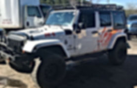 Finished up this 2012 #jeep JKU. Front _
