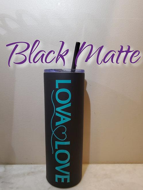 20oz Tumbler - Black Matte