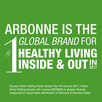 arbonne is #1 - global brand social_imag