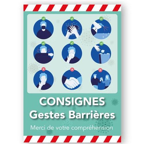 Consignes Gestes Barrière