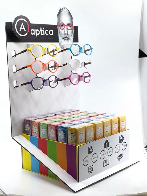 ORBIT ET PERSO 2 packs de lunettes loupes sans filtre anti bleu pack de 36