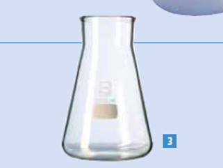 Grand flacon-fiole / 3 litres