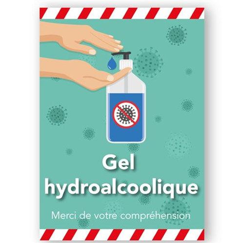 Gel Hydroalcoolique à disposition