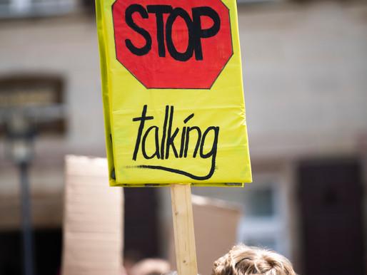 JUST TALKING IT & NOT WALKING IT!!