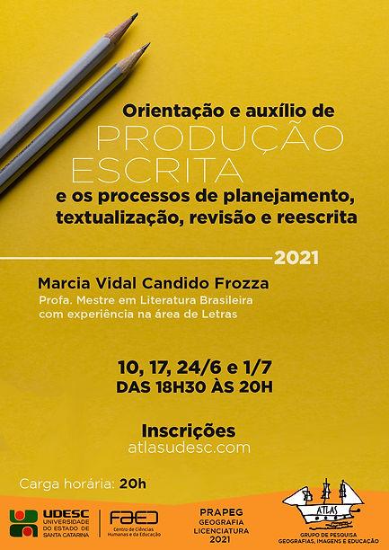 Cartaz - Produção Escrita - Maio - 2020.