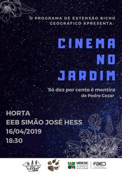 Cinema no Jardim 16/04/2019