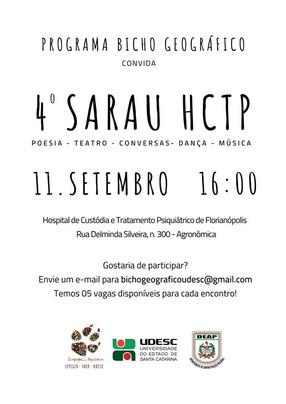 4º Sarau HCTP 11/09/2018