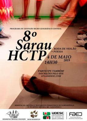 8º Sarau HCTP 04/05/2019