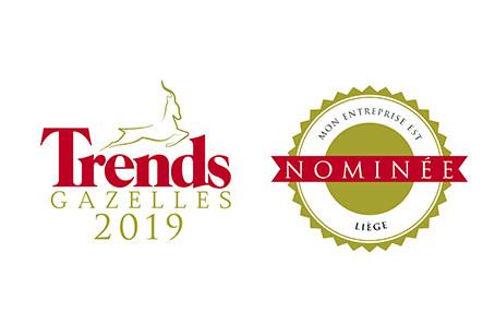 Delka entreprise nominée au Trends Gazelles 2019