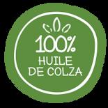 100 pourcent huile de colza