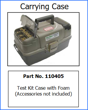 MIDWEST TEST KIT CASE for 845's - 110405