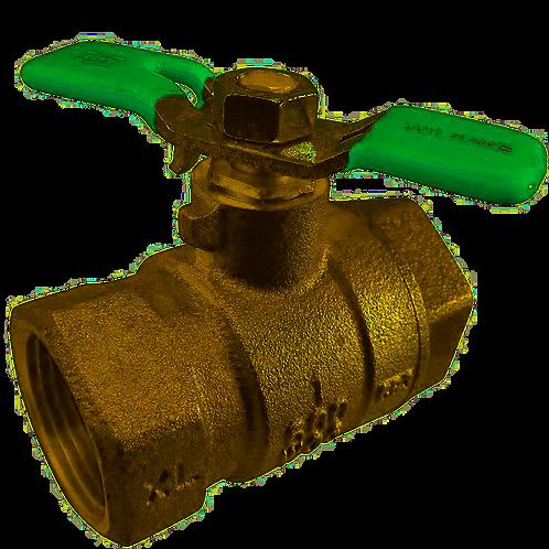 """WILKINS 850XL - 1 1/4"""" - Full Port Bronze Ball Valve - (114-850XL)"""
