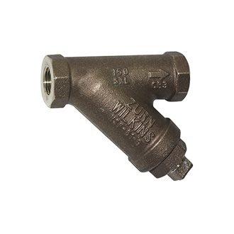 "WILKINS S112 - 1 1/2"" - Bronze Wye Type Strainer LF - (112-SXL)"