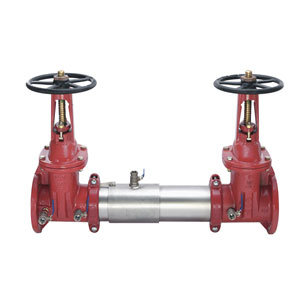 """WATTS 757 OSY-10"""" - Stainless Steel Double Ck w/ OSY Gate Valves - (0111515)"""