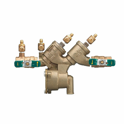 """WATTS LF919 QT - 3/4"""" - Reduced Pressure Zone Assembly RP - (0065372)"""