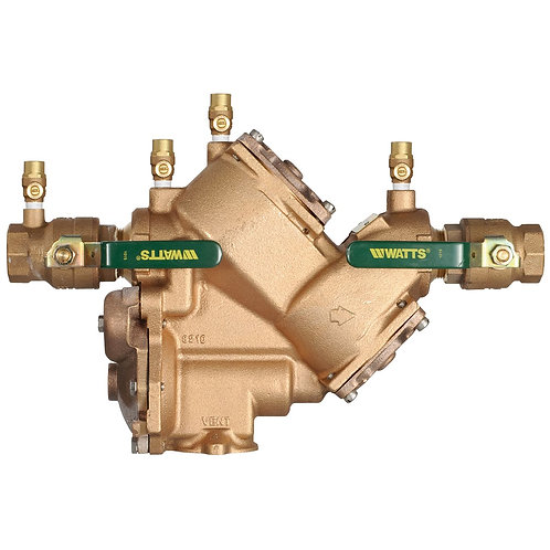 """WATTSLF909M1-QT - 1 1/4"""" - Reduced Pressure Zone Assembly RP - (0391010)"""