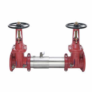 """WATTS757 - OSY - 8"""" -Stainless Steel Double Check Valve Assembly - (0111514)"""