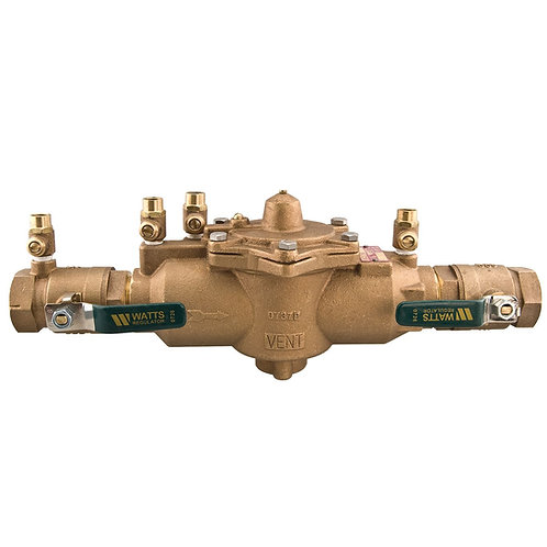 """WATTS LF009M2QT - 2"""" - Reduced Pressure Zone Assembly RP - (0391007)"""