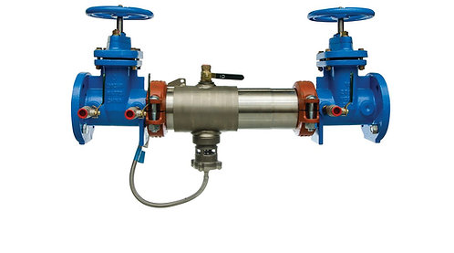 """WATTS LF957 - 8"""" -Reduced Pressure Assembly RP w/NRSgate valves - (0111606)"""