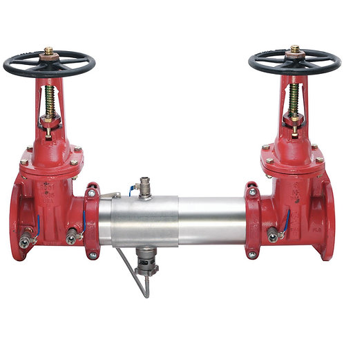 """WATTS 957 - 6"""" -Reduced Pressure Assembly RP w/OSY Gate Valves FxF - (0111587)"""