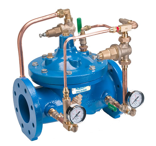 """WILKINS ZW209 - 4"""" - BYPASS Automatic Control Valve ACV - (ZW2094BP)"""