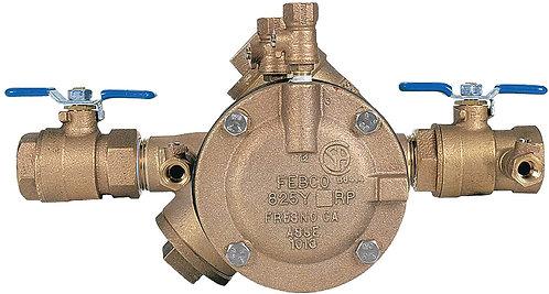 "FEBCO 825FBV - 1 1/4"" - 825Y Reduced Pressure Zone Assembly - (825FBV)"