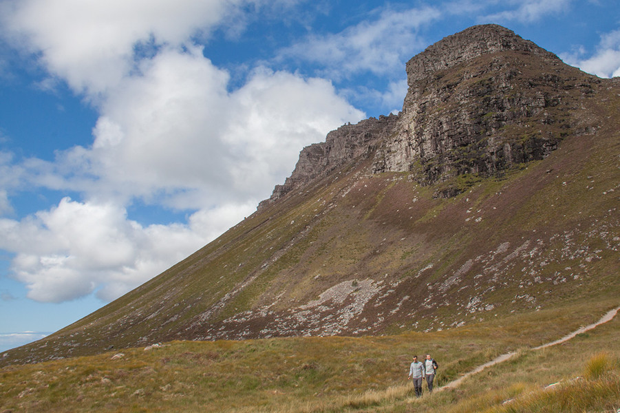 The mighty Stac Pollaidh, Assynt