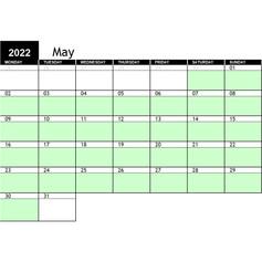 2022 May Availability