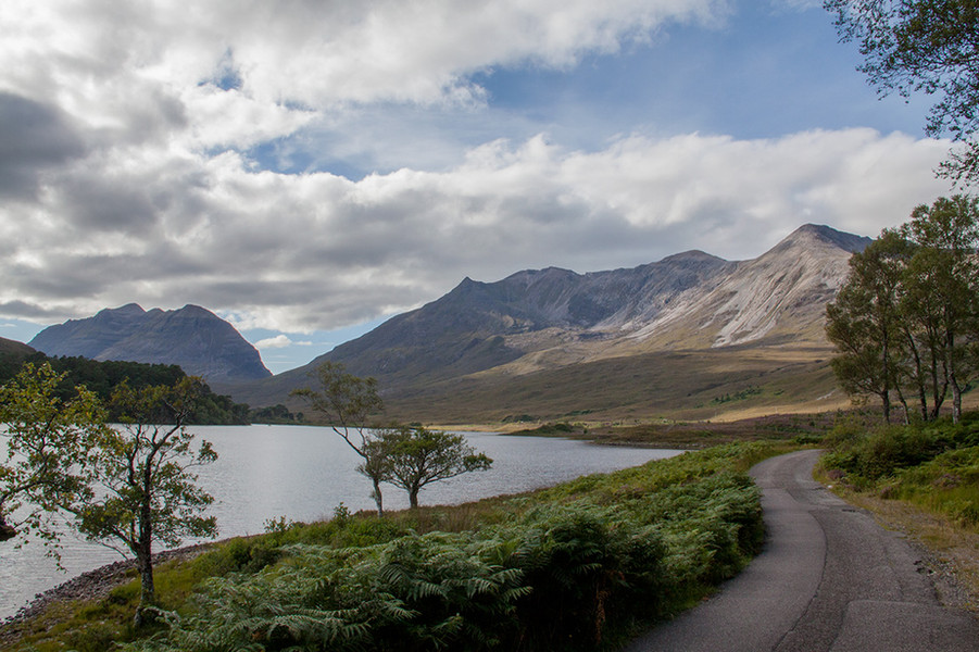 Loch Clair and Bein Eighe