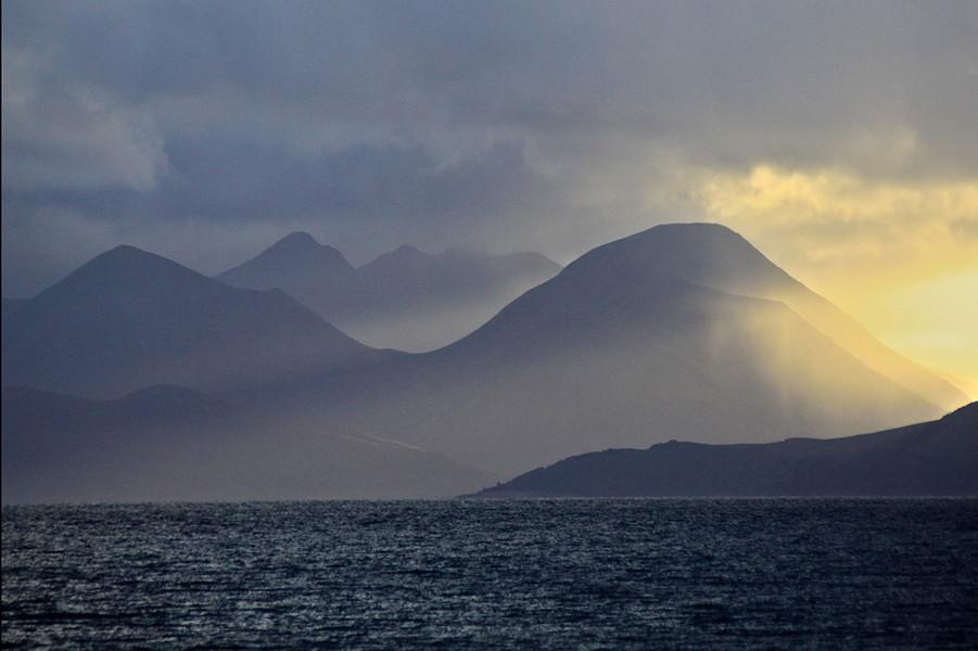 View of Skye from Applecross.