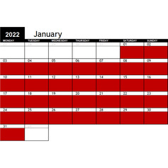 2022 January Availability