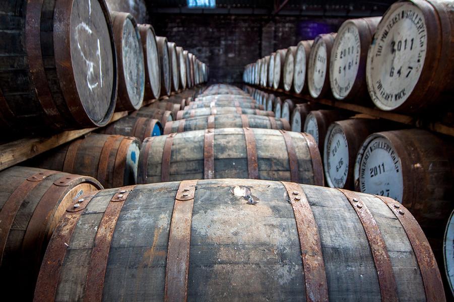 Old Pulteney Whisky Barrels