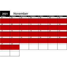 2021 November Availability